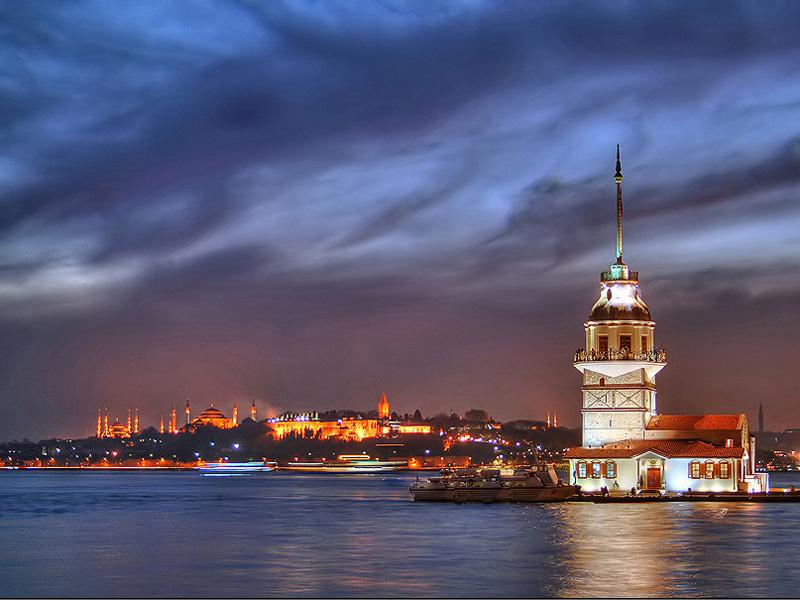 برج البنات فى تركيا - السياحة في تركيا