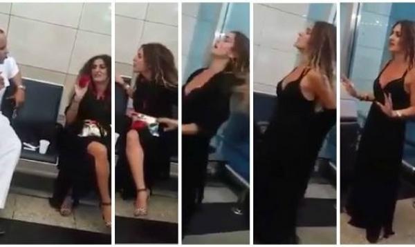صور ياسمين النرش سيدة مطار القاهرة