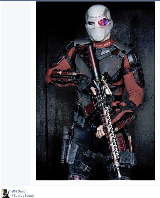 ���� ����� ��� ���� Deadshot �� ���� ������ Suicide Squad