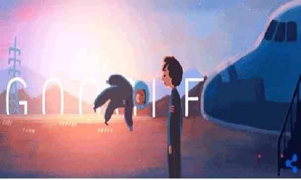 يحتفل جوجل بذكرى ميلاد رائدة الفضاء سالي رايد رقم 69 بتاريخ 26/5/2021