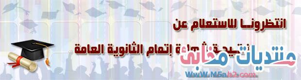 نتيجة الثانوية العامة في مصر 2021