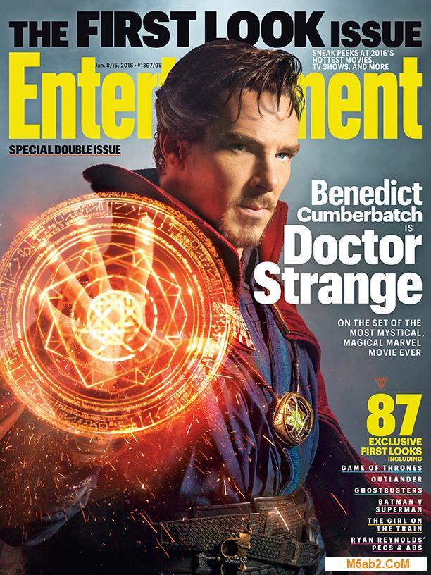 عرض أول لمحة للممثل Benedict Cumberbatch في دور Doctor Strange