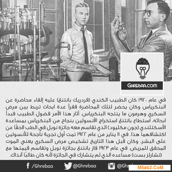 حل اجابة : سؤال متي كانت أول محاولة ناجحة لاستخدام الأنسولين