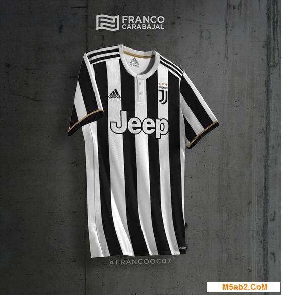 تسريب صورة قميص يوفنتوس 2017 خاص الشعار الجديد