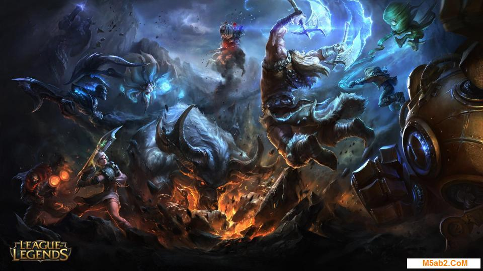 تقرير عن لعبة ليج أوف ليجيندز - League of Legend
