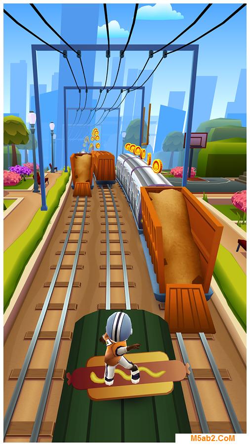 تحميل لعبة صب واي سيرفرس Subway Surfers للأندرويد 2018 مجانًا