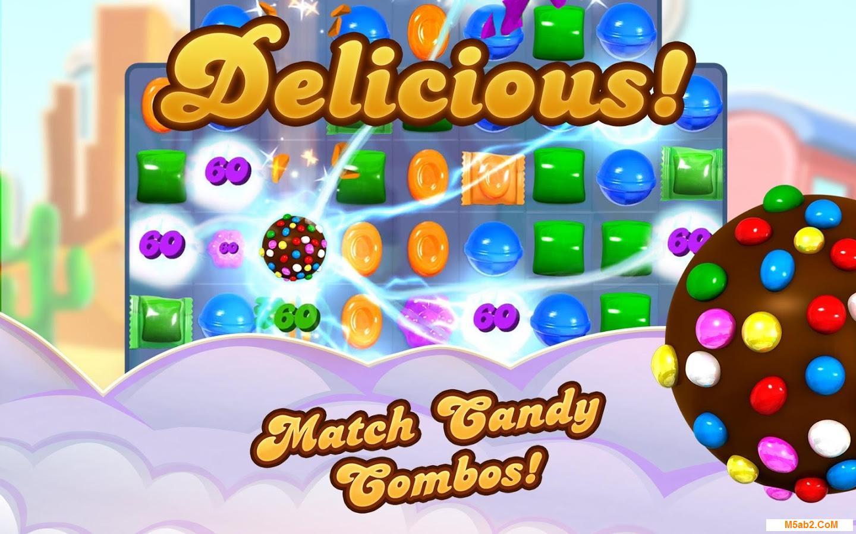 تحميل لعبة كاندي كراش ساغا Candy Crush Saga للأندرويد 2018 مجانًا