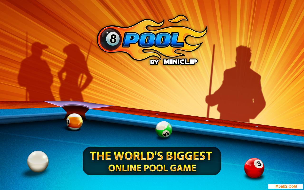 تحميل لعبة البلياردو  8 Ball Pool للأندرويد 2018 مجانًا